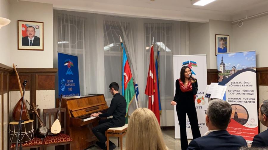 Estoniyada Azərbaycan Milli Musiqi Günü qeyd edilib