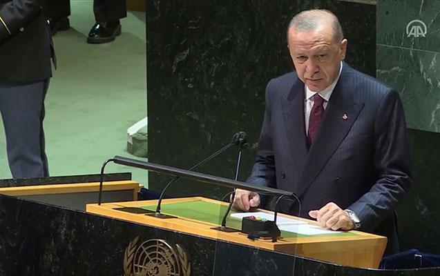 Ərdoğan BMT-dəki çıxışında Azərbaycandan danışdı