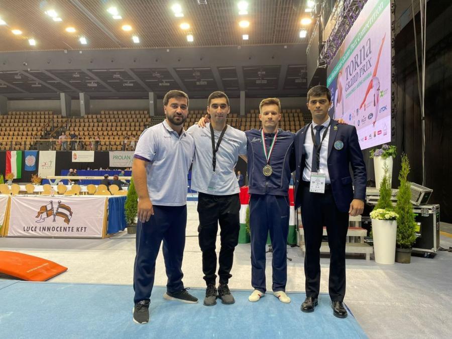 Gimnastımız Macarıstanda keçirilən Qran Pridə qızıl medal qazanıb