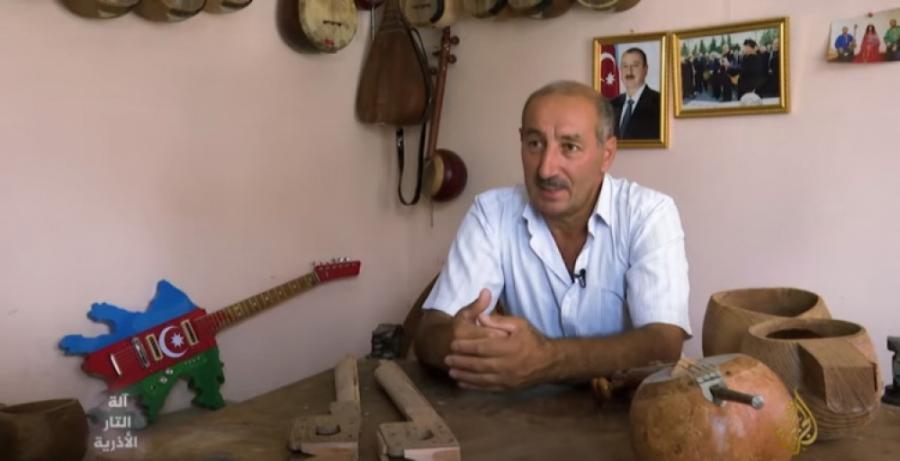 """""""Əl-Cəzirə"""" Azərbaycan musiqisinin simvolu olan tar barədə reportaj hazırlayıb"""