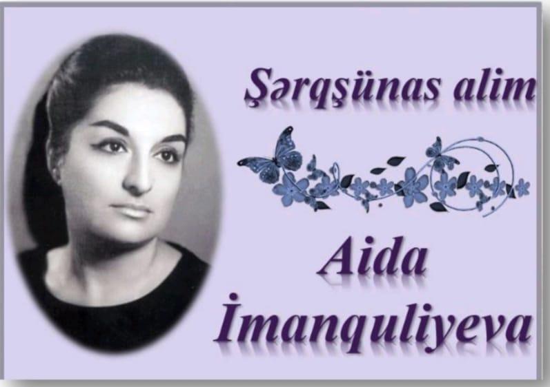 """Milli Kitabxanada """"Şərqşünas alim Aida İmanquliyeva"""" adlı sərgi təqdim olunub"""