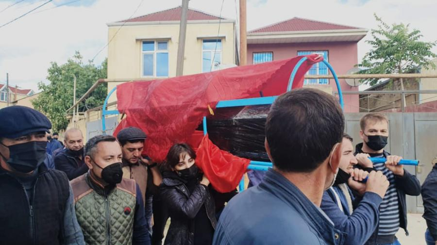 Gənc alim, jurnalist Nurlan Ağa dəfn olunub