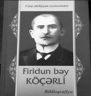 ridun bəy Köçərli ilə bağlı biblioqrafik nəşr təqdim edilib