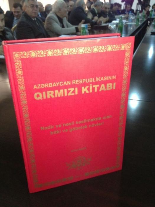 """Azərbaycanın """"Qırmızı kitabı""""nın ikinci nəşri hazırlanır"""