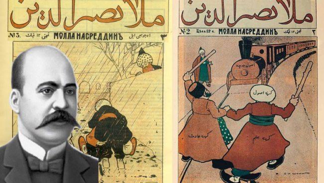 """""""Molla Nəsrəddin"""" jurnalının səhifələrində: <b style=""""color:red"""">""""İdarədən"""" """"İdarəyə"""" məktublar </b>"""