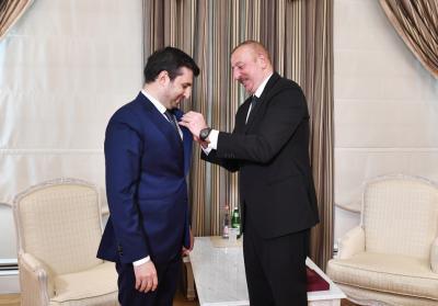 İlham Əliyev Selçuk Bayraktarı qəbul etdi - Yenilənib