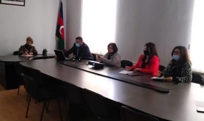 Nizamiyə həsr olunmuş şeir müsabiqəsi - Fotolar