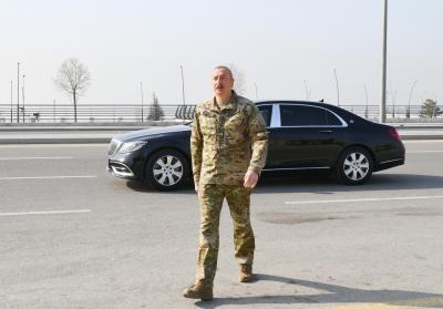 Prezident Hərbi Qənimətlər Parkının açılışında - FOTO+VİDEO