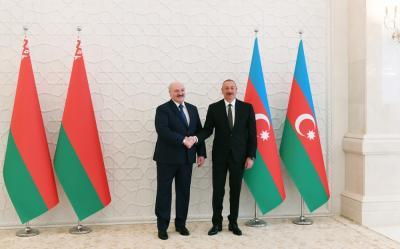 Azərbaycan və Belarus prezidentləri görüşdü - Yenilənib