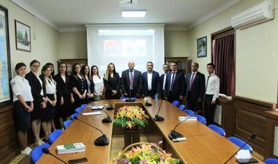 AMEA Naxçıvan Bölməsində Şəmil Sadiqlə görüş - Foto