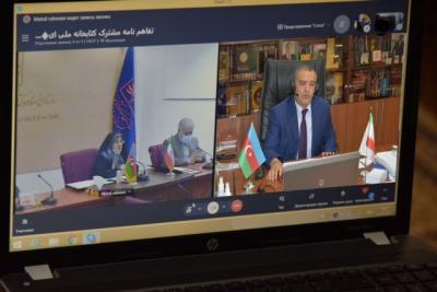 Azərbaycanla İranın Milli Kitabxanası arasında müqavilə imzalandı
