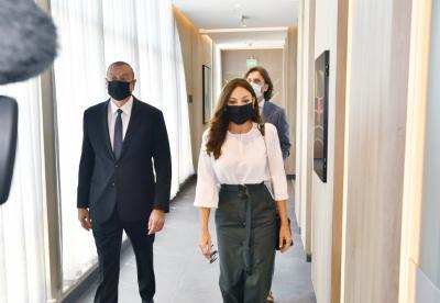 """İlham Əliyev """"Intercontinental"""" otelinin açılışında - Yenilənib"""