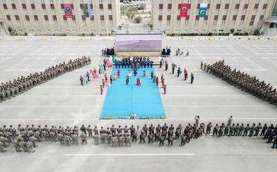 Azərbaycan, Türkiyə və Pakistan xüsusi təyinatlılarının təlimlərindən fotoreportaj