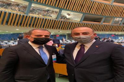 Ceyhun Bayramov Nyu-Yorkda Mövlud Çavuşoğlu ilə görüşüb