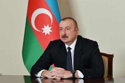 Azərbaycan Prezidenti Füzuli şəhərinin təməl daşını qoyub