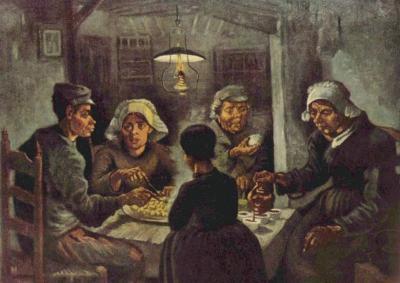 """Kartof yeyənlər... - """"Bir rəsmin dedikləri"""" rubrikası"""